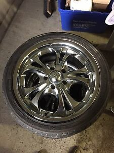 Boss motorsport Rims and Tire