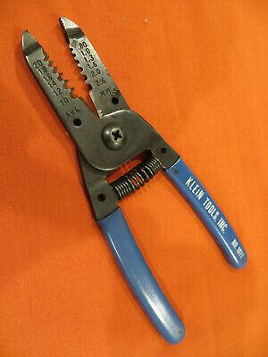 Klein Tools No. 1011 Wire Cutter Stripper Solid Stranded Copper Only 1756