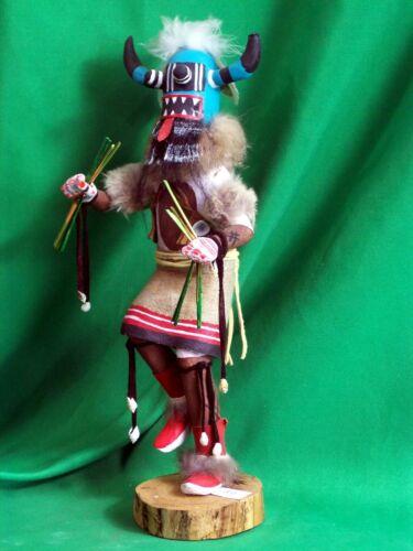Navajo Kachina Doll - Ogre Kachina by R. Mitchell - Scary!