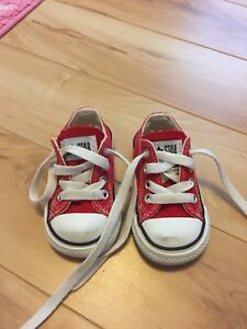 Baby Converse size 3- gender neutral