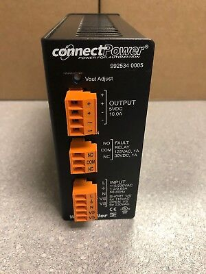 Weidmuller 992534 0005 Connect Power Supply For Automation