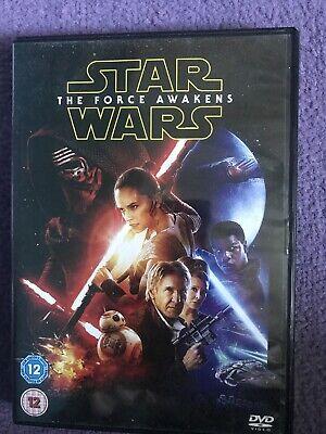 Star wars force awakens dvd
