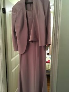 Purple evening gown size 16