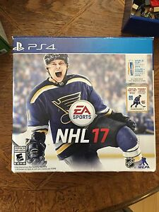 PS4 2017 NHL Limited addition gift set