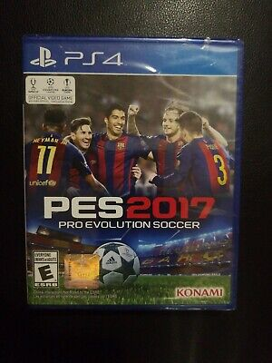 Pro Evolution Soccer 2017 Sony PlayStation 4 PS4 Brand New. Free USA Shipping