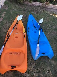 Spirit kayaks for kids REDUCED to $200 each Port Kennedy Rockingham Area Preview