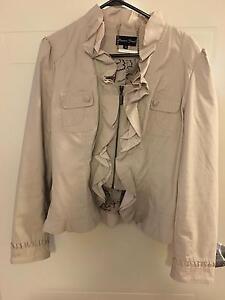 Ladies Ruffle Jacket size 16 - Beige Camden Camden Area Preview