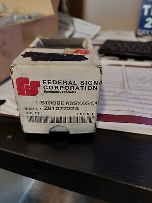 Federal Signal Strobe Assy Z8107232a Lot Of 2 New