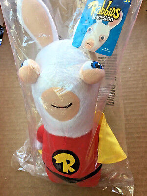 New Raving Rabbids Invasion Super Bwaah! Plush Doll McFarlane 2014 ](Rabbids Invasion Doll)
