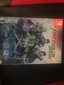 Fire Emblem Warriors collectors edition with box Nintendo Switch