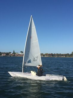 Laser dinghy full, radial and 4.7 190367