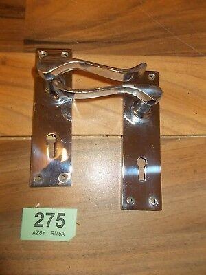 Chrome Lever Door Handles 275