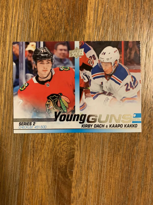 2019-20 UPPER DECK SERIES 2 YOUNG GUNS ROOKIE U-PICK FROM LIST FREE SHIP US