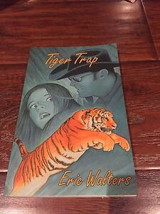 Signed copy of Tiger Trap by Eric Walters