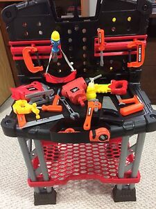 Toy Work Bench & Tools