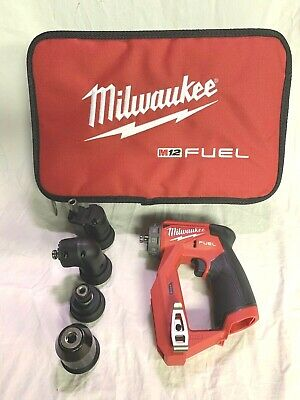Milwaukee M12 Fuel Installation 38 Drilldriver 4-in-1 Bag 2505-20- From Kit