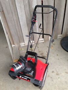 Electric snowblower 18 inch works great