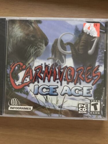 Computer Games - NEW Carnivores: Ice Age (PC, 2001) Computer Game SEALED