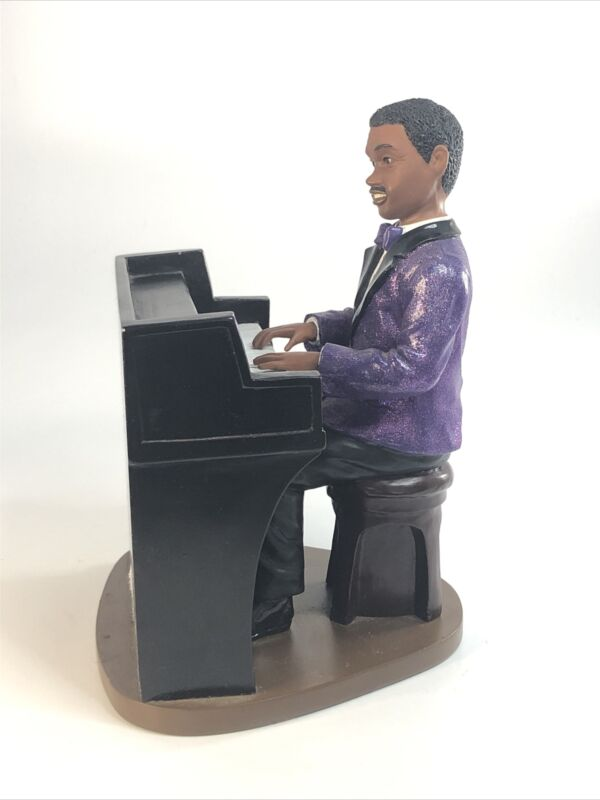 Endeavor  PIANO PLAYER Home Decor Statue Sculpture Figurine With Bow Tie
