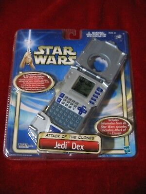 Tiger Star Wars Jedi Dex  Attack Of The Clones  Handheld Game 2002 New  Hasbro