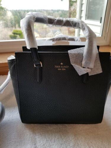 NWT Kate Spade Jackson Medium Leather Satchel Bag style # WK