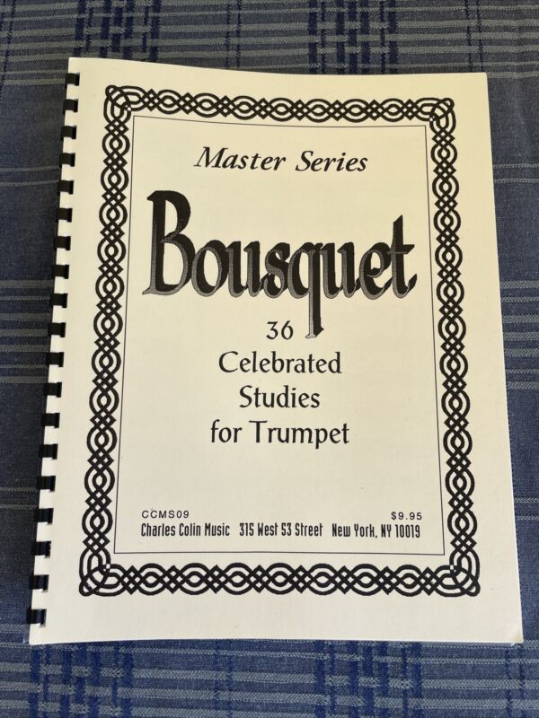 Bousquet 36 Celebrated Studies for Trumpet