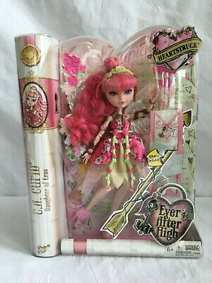 """EVER AFTER HIGH TOYS""""R""""US TRU EXCLUSIVE HEARTSTRUCK C.A. CUPID DOLL (NEW)"""