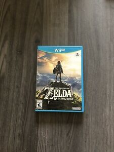 Zelda Breath of the Wild - Nintendo Wii U