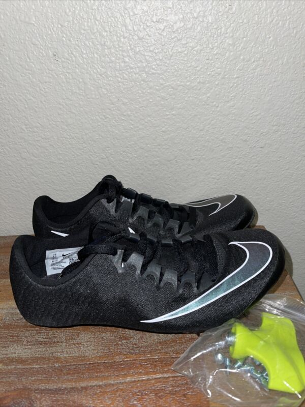 Nike Superfly Elite Track/Field Sprint Spikes Black 835996-002 Men's SZ 5.5 NEW