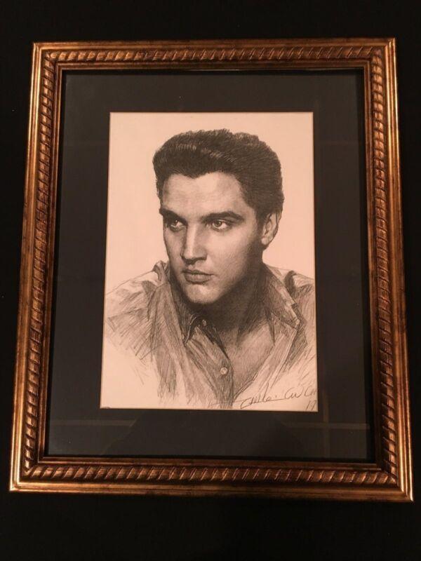 Framed Elvis Presley print - REDUCED!!