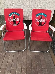Collectible Coca - Cola Lawn Chairs