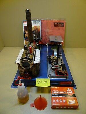 Dampfmaschine Wilesco Werkstatt D101 mit Zubehör / 70 - 80er Jahre