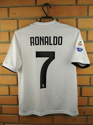 f6c2437f Ronaldo Real Madrid kids 13-14 y. jersey 2019 home shirt soccer football  Adidas