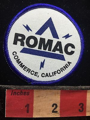 California Patch ROMAC Electrical Supply Store Commerce California 73WE