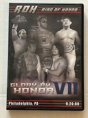 ROH Glory By Honor VII (2008) Ring of Honor DVD WWE AEW WCW NOAH NJPW ECW WWF