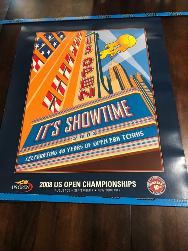 2008 US Open RARE VINTAGE ORIGINAL Poster
