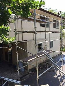 Aluminium Mobile Scaffold Tower 4m high Glenbrook Blue Mountains Preview