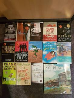 YEAR 7 to 12 TEXT BOOKS AND NOVELS