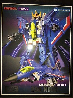 Kbb Thunder Wrath Masterpiece Thundercracker Kubianbao  New