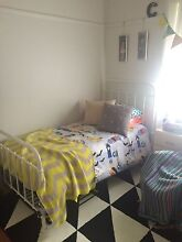 Incy Interiors Mia King single bed white Bardwell Valley Rockdale Area Preview