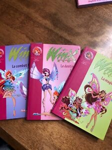 Livres collection WINX club