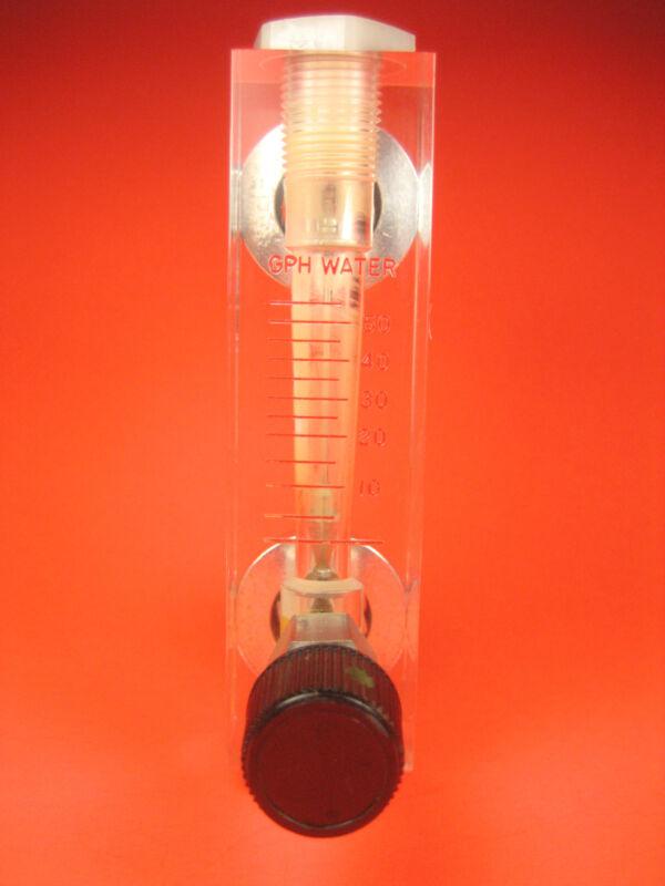 Dwyer -  Plastic Water Flow Meter 0-55 GPH