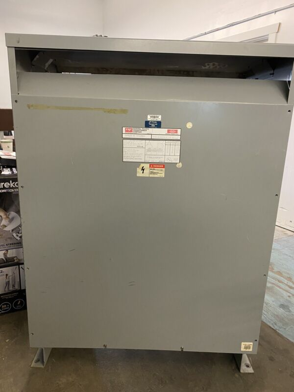 225.00 KVA Federal Pacific Dry Type Transformer 480-208Y/120 Volt 3 Phase CAT T4