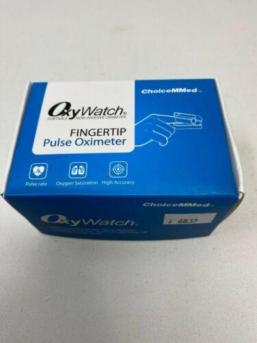ChoiceMMed Fingertip Pulse Oximeter OxyWatch Black MD300C21C
