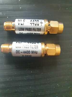 Lot Of 2 Mini-circuits Filters Vlf-4400