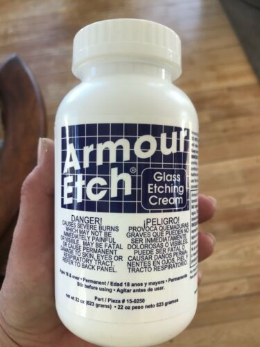 Armour Etch Glass Etching Cream ~ 22 Ounce