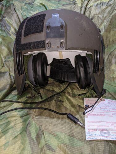 RCAF Gentex HGU-56 P Flight helmet aircrew Integrated Helmet size: LARGE