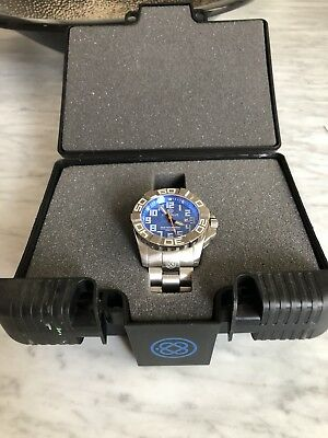 Deep Blue Abyss Generation II Swiss Automatic Mens Watch
