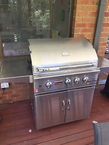 Grand fire stainless BBQ Warranwood Maroondah Area Preview