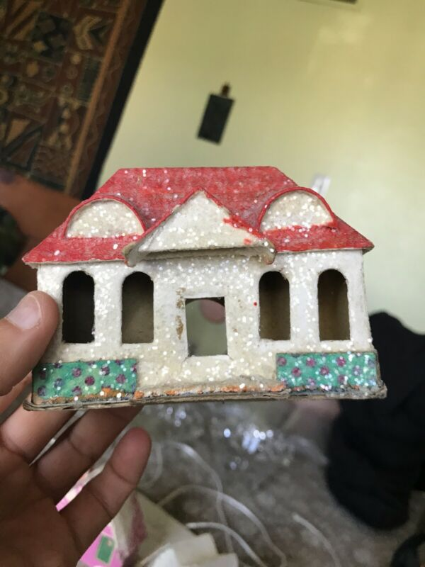 Putz House Christmas